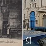 La synagogue au début du XXe siècle et après les bombardements