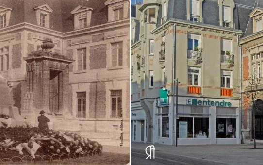 Le Poilu et la Fontaine du Cours Langlet