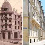 La Reconstruction : Angle de la Rue Thiers et du Cours Langlet