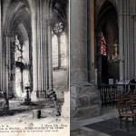 Désastres intérieurs de la Cathédrale (côté nord)