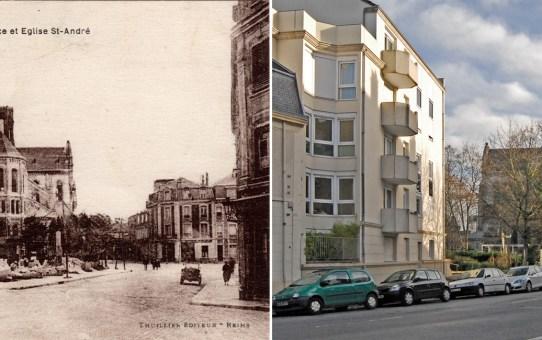 Place du docteur Chevrier, rue Camille Lenoir