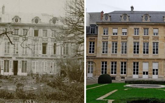 L'Hôtel Ponsardin, actuelle Chambre de Commerce de Reims et d'Epernay