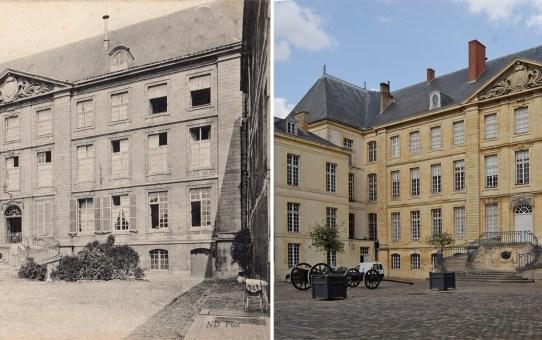 La cour du Musée Saint-Remi