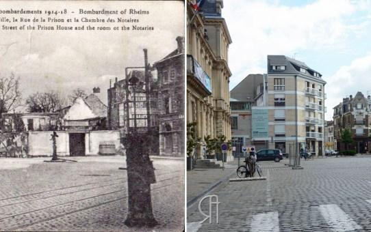 La Place de l'Hôtel-de-Ville en 1919