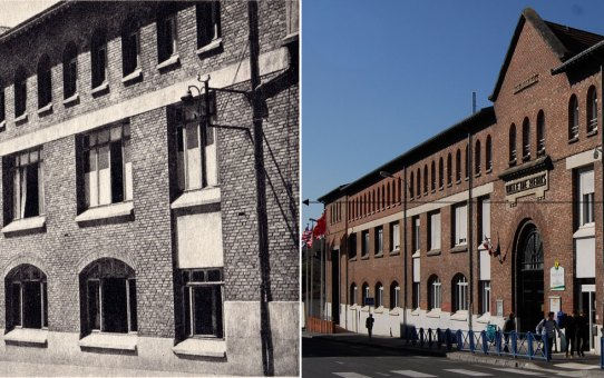 Le Collège Moderne Technique où fut signée la capitulation allemande