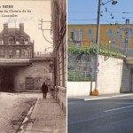 Le Pont du chemin de fer, rue de Courcelles