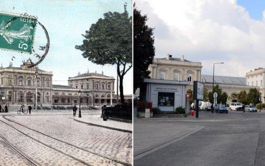 La gare et le tramway