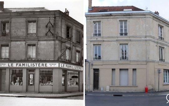 Angle de la rue des Romains et de la rue du Mont d'Arène