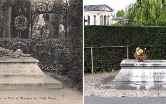 La tombe de l'abbé Miroy