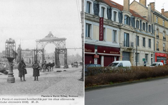 La Porte de Paris en 1919