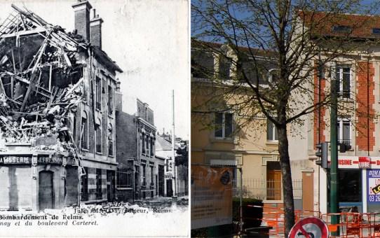 Angle de la rue de Cernay et du boulevard Carteret, la boulangerie Fresson
