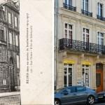 23 et 25 rue Thiers – Effets de Shrapnels