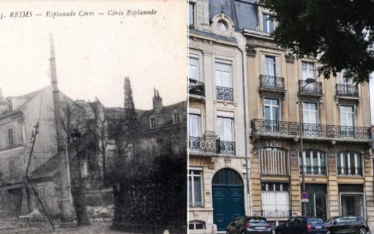 Esplanade Cérès après la Grande Guerre