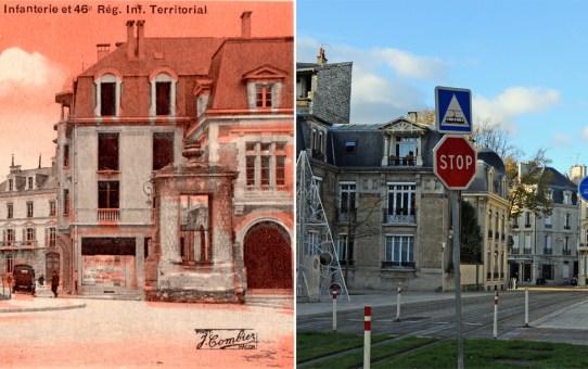 Cours Langlet, le Poilu et la fontaine des Boucheries