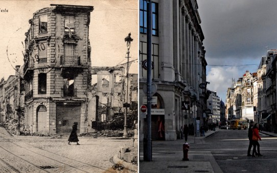 La rue de Talleyrand : 4 époques