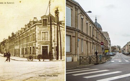 La rue de Louvois