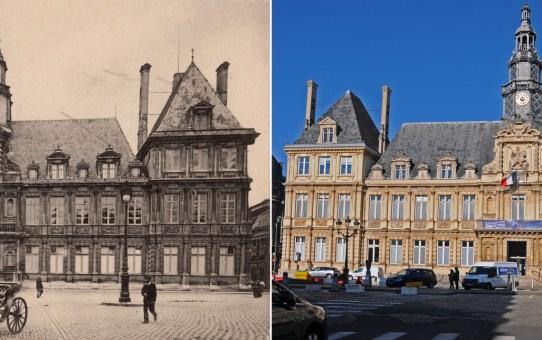 Avant la Grande Guerre, l'Hôtel de Ville