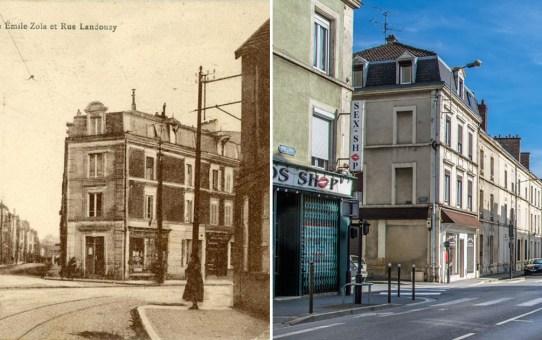 Rue Emile Zola et rue Landouzy