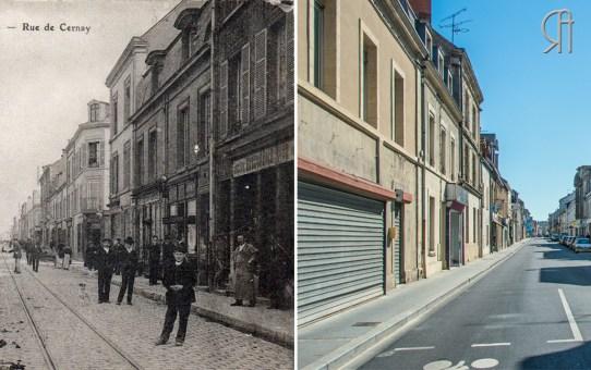 La rue de Cernay