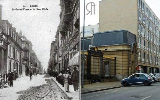 La Grand'Poste et la rue Cérès
