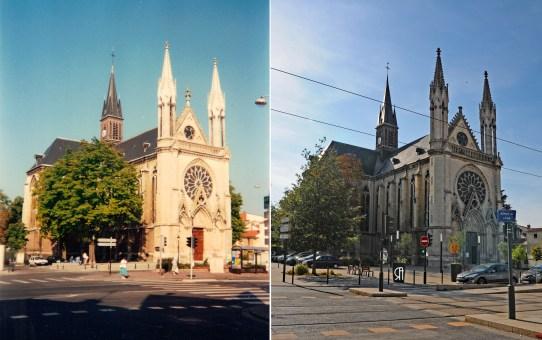 L'Église Saint-Thomas vers l'année 1986