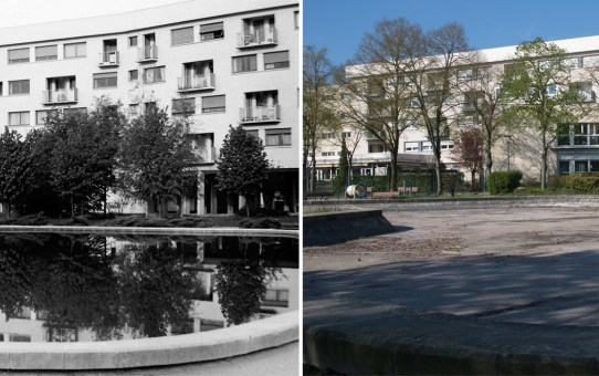 Petit bassin, quartier de l'Europe