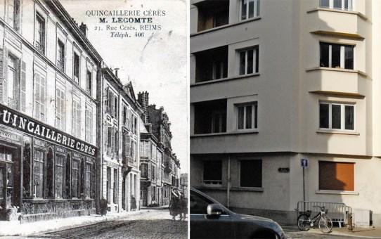 Angle de la rue Cérès et de la rue de Luxembourg
