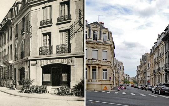 Rue de l'Arquebuse, le café de la Patte d'Oie