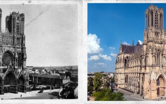 La Cathédrale vue de la Caserne Chanzy