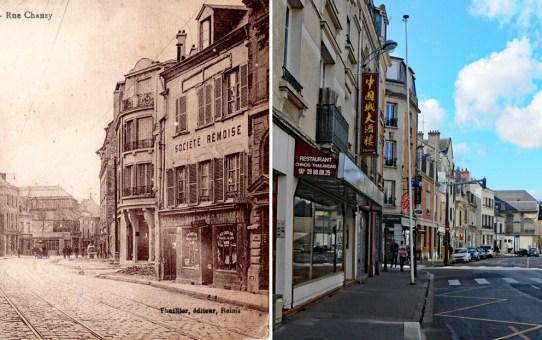 La rue Chanzy avant la Grande Guerre