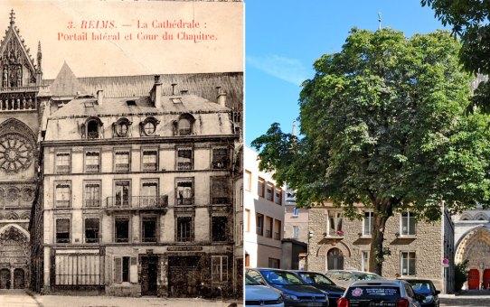 La place du Chapitre avant, pendant et après la Grande Guerre