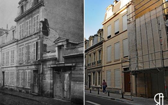 La rue Caqué pendant la Grande Guerre