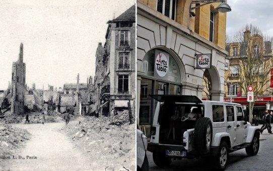 La rue de Thillois après la Grande Guerre