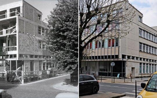 Rue Libergier, l'École des Beaux-arts