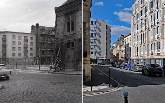 La rue des Marmouzets en mai 1963