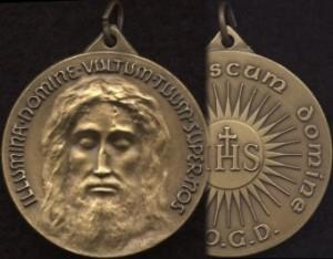 Medalla del Rostro de Jesús