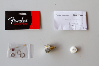 Fender TBX - kit