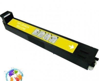 HP CB382A 824A Yellow Umplere HP Color LaserJet CM6040
