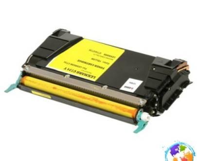 Lexmark C734A1YG Lexmark C734A2YG Yellow Umplere Lexmark X738DE