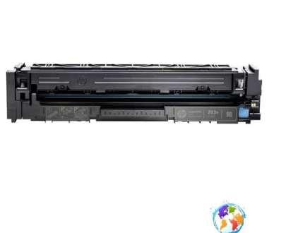 HP CF541X 203X Cyan Umplere HP LaserJet Pro M254NW