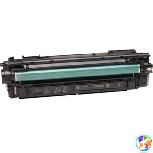 hp CF470X 657X Black Umplere HP Color Laserjet ENTERPRISE M682Z