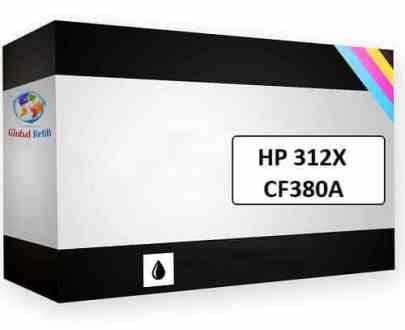 HP CF380X 312X Black HP LaserJet Pro MFP M476DW