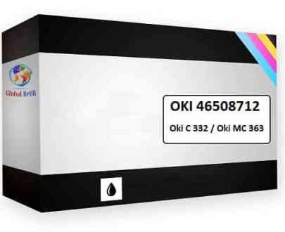 Oki 46508712 Black - Oki C 332