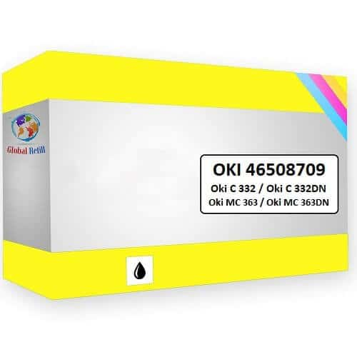 Oki 46508709 Yellow - Oki MC 363DN