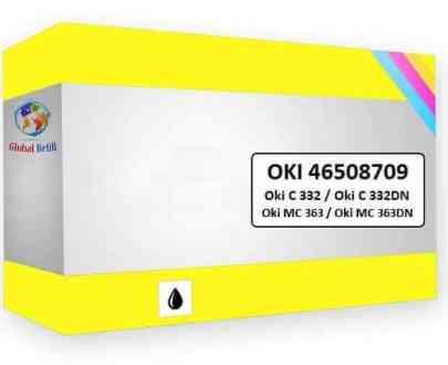 Oki 46508709 Yellow - Oki MC 363DN