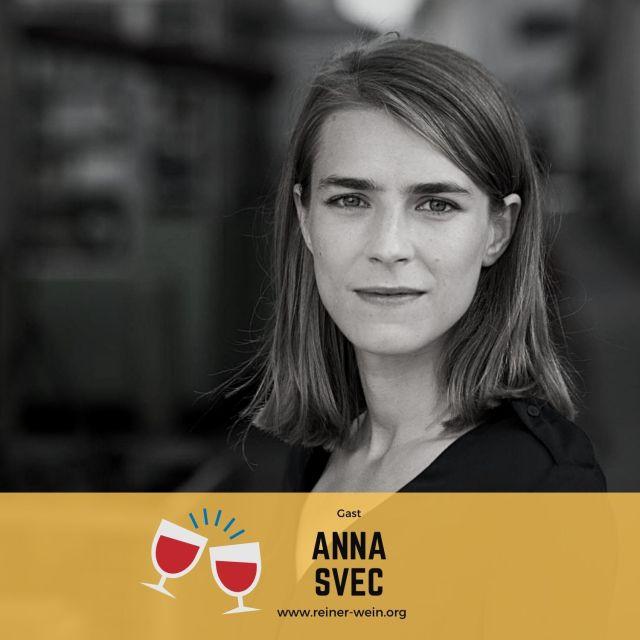 Anna Svec, Links, Gast Reiner Wein Politischer Podcast aus Wien