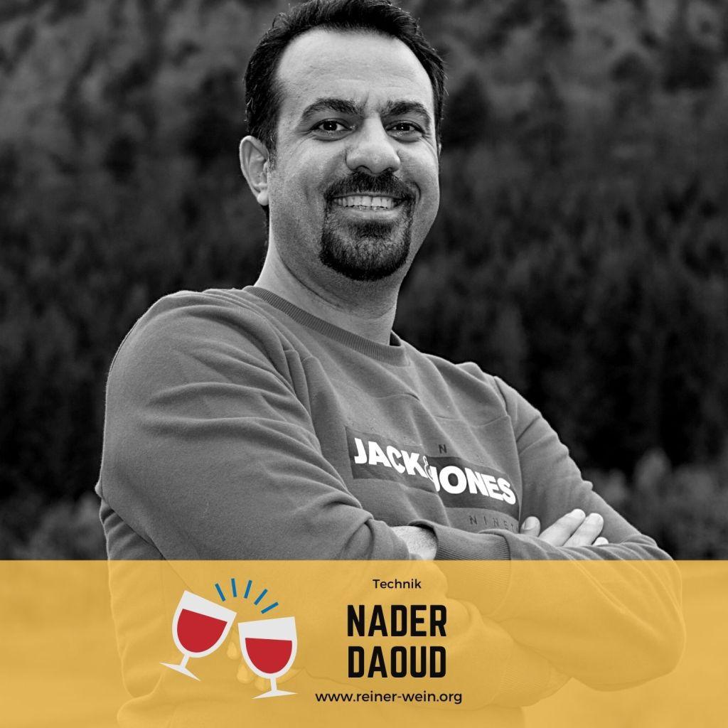 Nader Daoud Team Technik Reiner Wein Poitischer Podcast aus Wien (Foto: Privat)