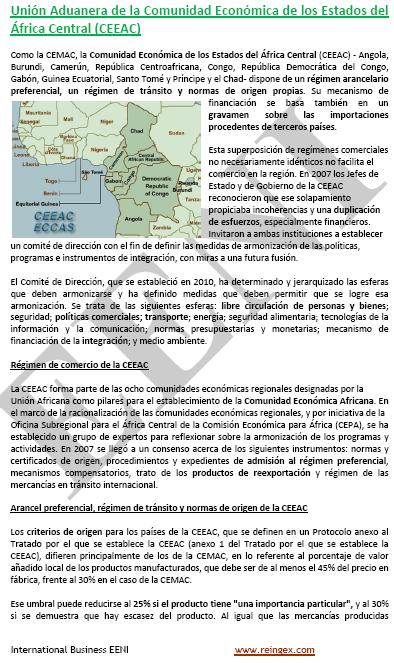 Comunidad Económica África Central