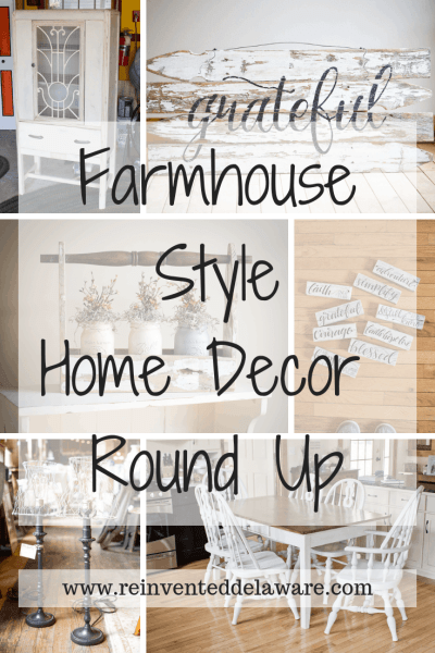 Farmhouse Style Home Decor Round Up