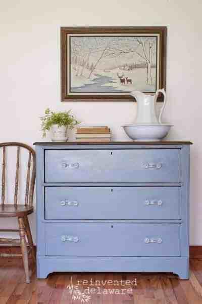 Antique Dresser Makeover | The Reveal